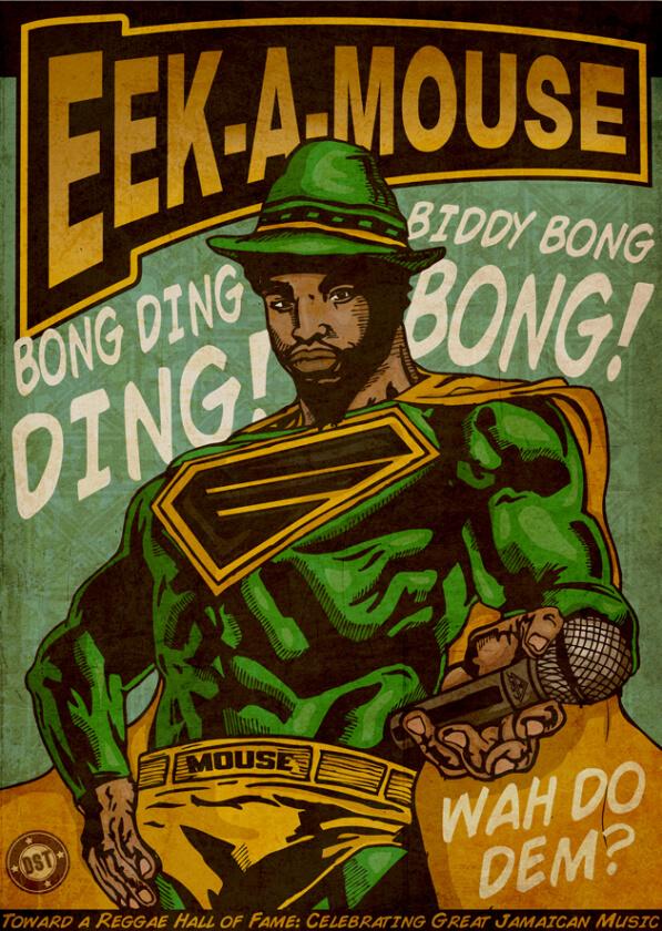 Poster Contributions International Reggae Poster ContestJohn Lewis