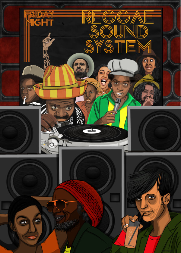 48 | Reggae Sound System Friday Night | Marzia Grossi - Italy