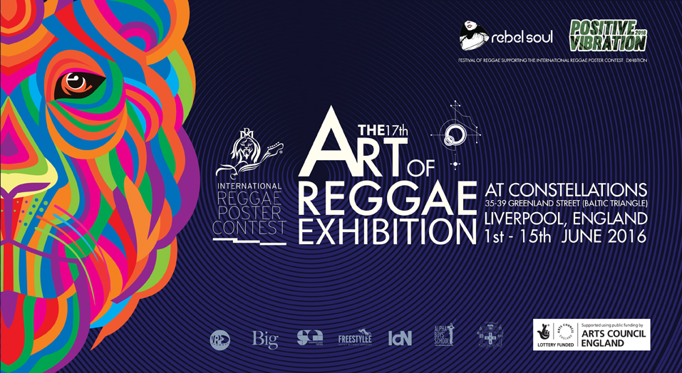 The Art of Reggae Exhibition at Liverpool's Festival of