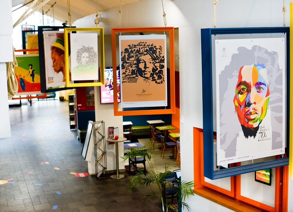 The Birmingham Repertory Theatre To Host 30 Of Bob Marley Posters